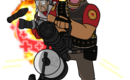 Tf2_medic_heavy_spray_by_brokenteapot-d3s3916