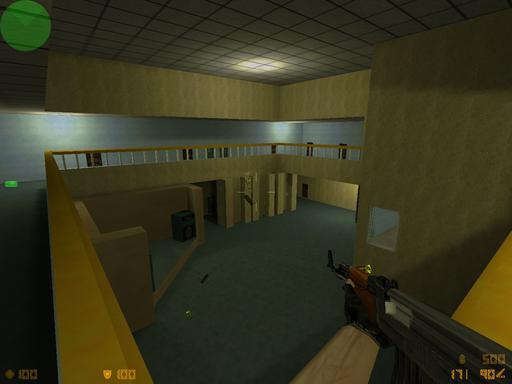 Half-Life: Counter-Strike - de_gimnazy6 моя первая карта
