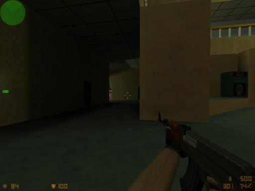 Half-Life: Counter-Strike - de_gimnazy6 моя первая карта