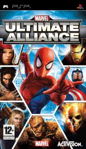 Marvel: Ultimate Alliance для PSP [рецензия]