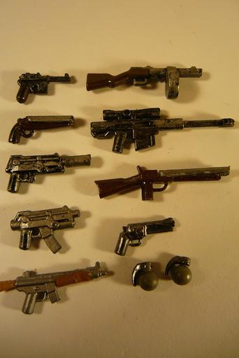 Fallout 3 - Лего модельки