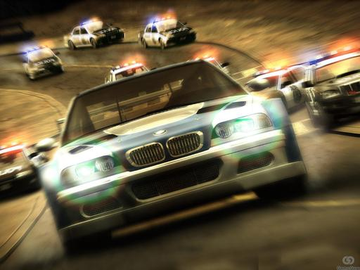 Need for Speed Most Wanted - Обои