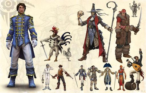 Fable III - Fable 3 Leaked Artbook