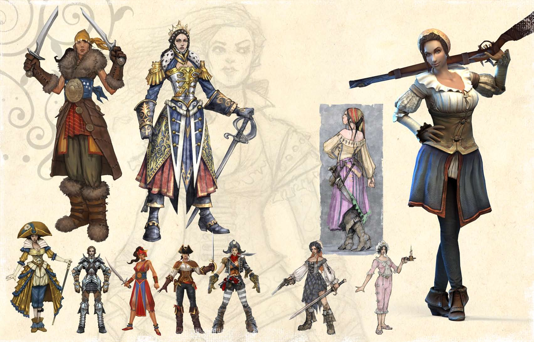 Fable 3 sexy outfits erotica comic