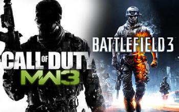 Modern Warfare 3 vs. Battlefield 3: новый раунд