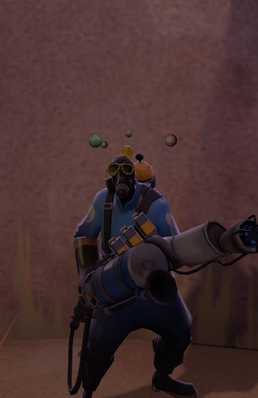 Orbiting Planets TF2 Pyro - Pics about space