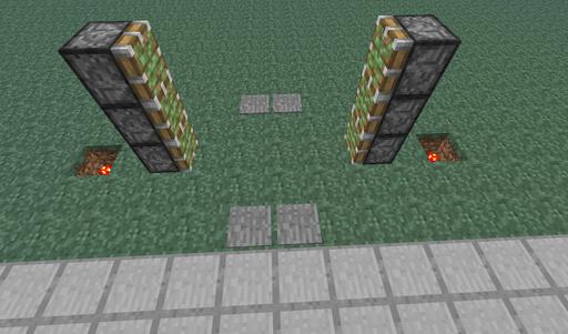 Как сделать ворота на поршнях