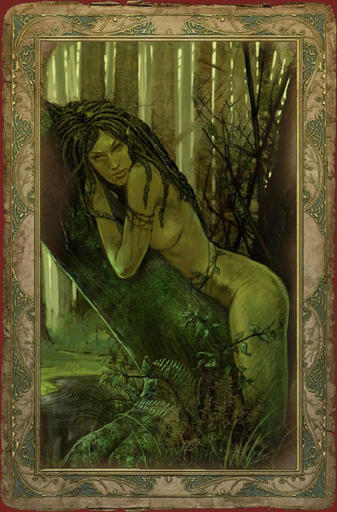The witcher dryad.