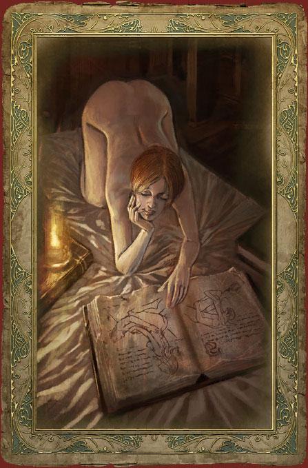 Ведьмак - секс-карточки +16.