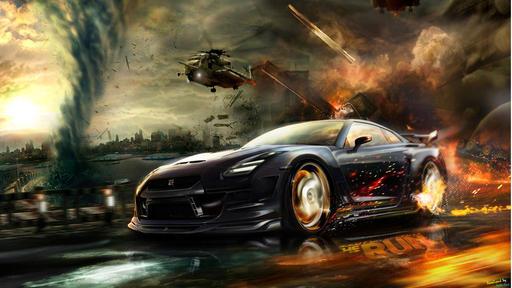 Need for Speed: The Run - Подборка пазлов из фан-обоев The Run (Тут призы есть)