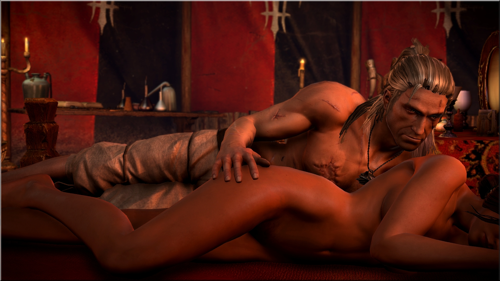 Rogue assassin nude scene naked image