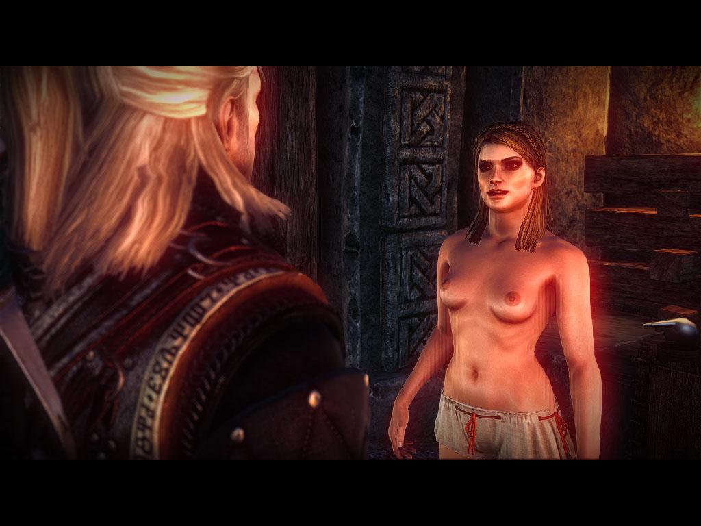 Witcher 2 assassins секс с саскией