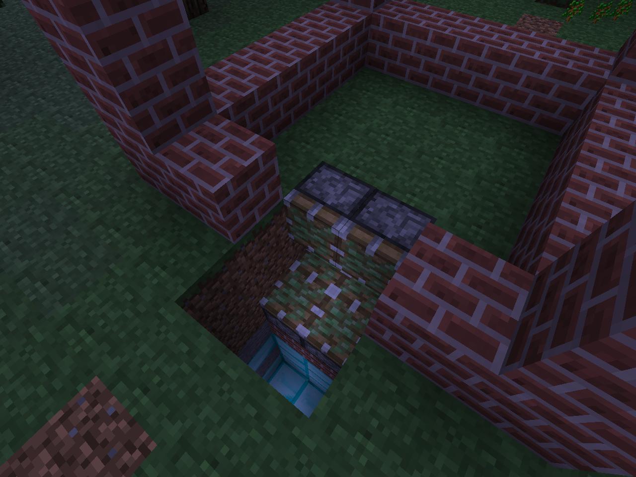 Как сделать люк в minecraft