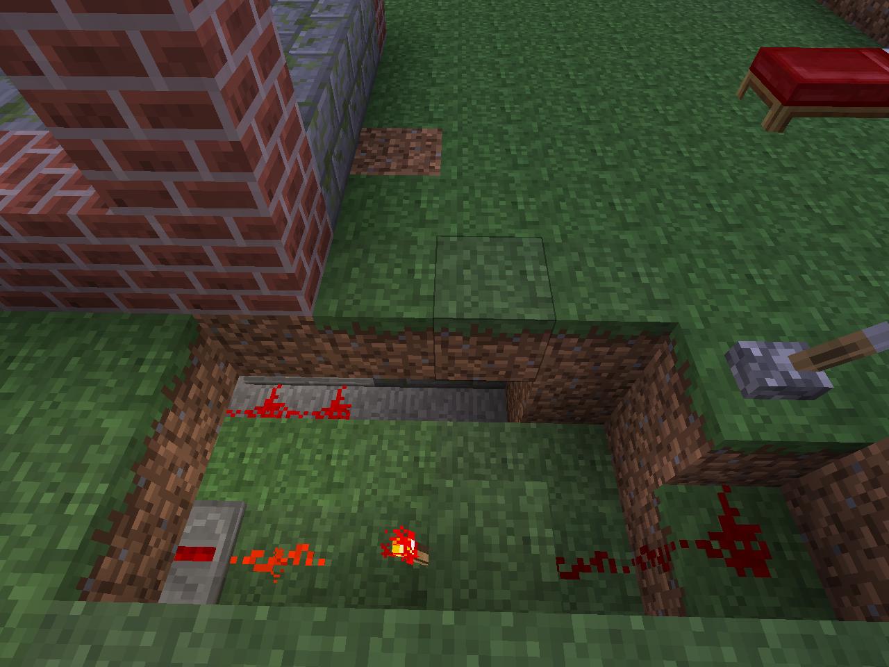 Как в minecraft сделать люк в 43