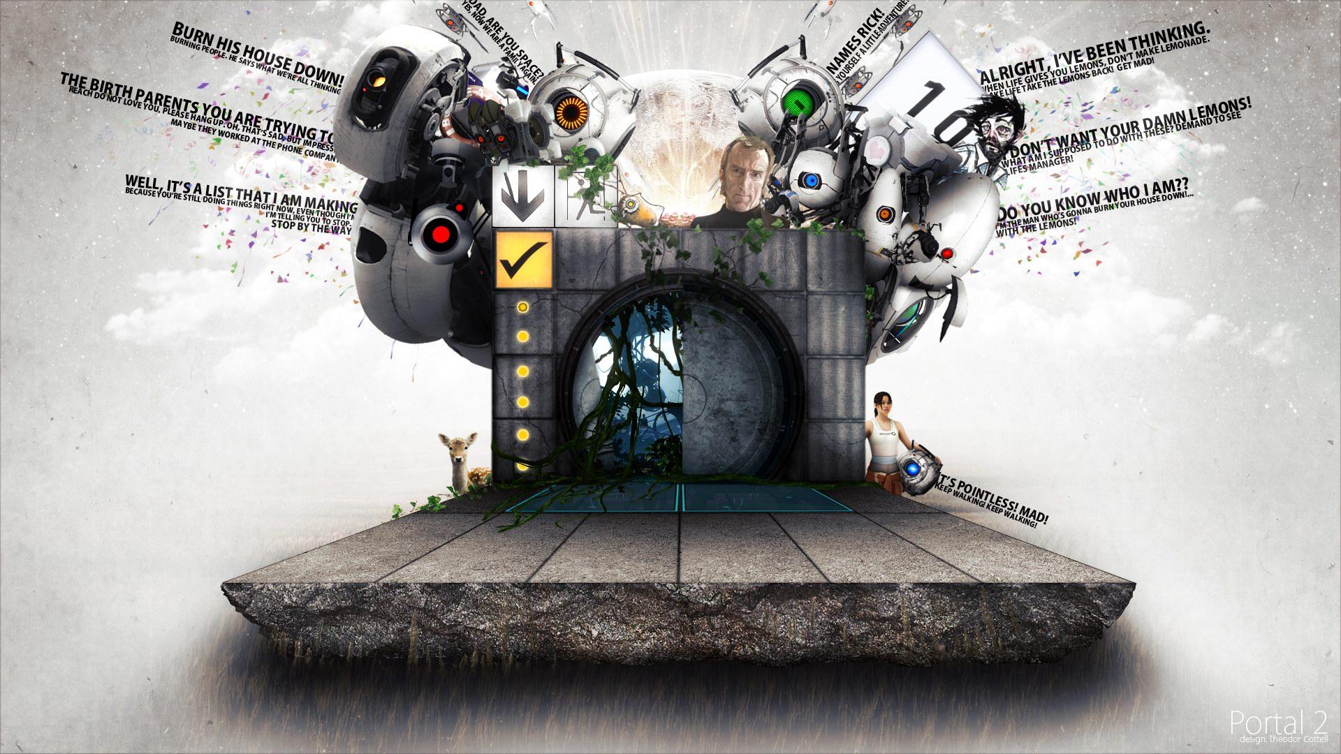 более тысячи обоев с Portal Upd теперь можно скачать одним