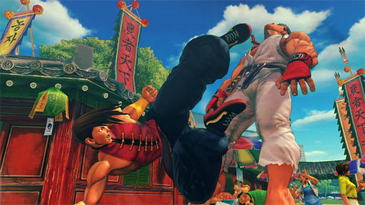 Super Street Fighter IV: Arcade Edition - Тест стримы