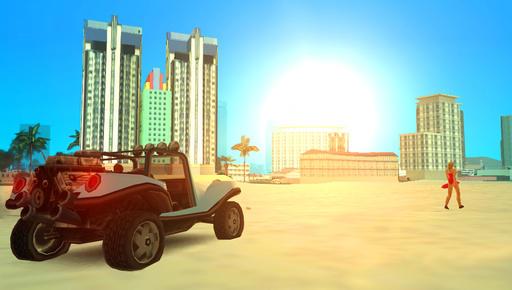 Grand Theft Auto: Vice City - Специально для конкурса городов. (При поддержке GAMER.ru и T&D). Вайс-Сити. 20 лет спустя.