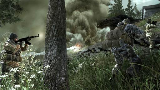 Call of Duty 4: Modern Warfare - Игровая жара: Call of Duty 4: Modern Warfare. При поддержке GAMER.ru и Kingston.