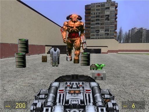 Doom II - Конкурс монстров:Самый злобный, самый большой и самый опасный