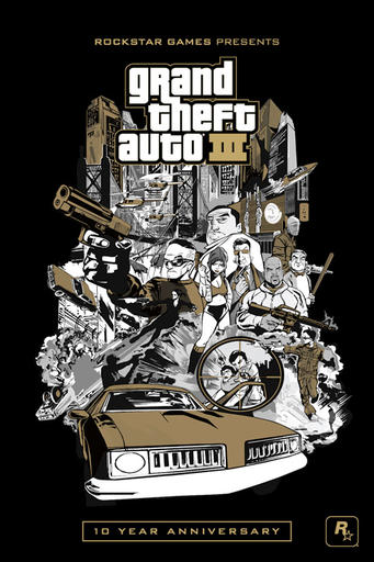 Grand Theft Auto III - Первое видео GTA III: 10th Anniversary Edition