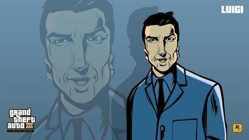 Grand Theft Auto III - GTA 3 :: Юбилейные обои
