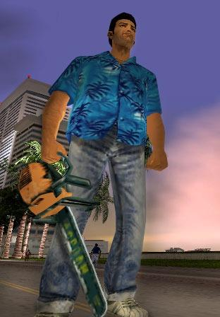 Grand Theft Auto: Vice City - Косплей Томми Версетти