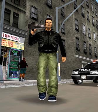 Grand Theft Auto III - Косплей Клода