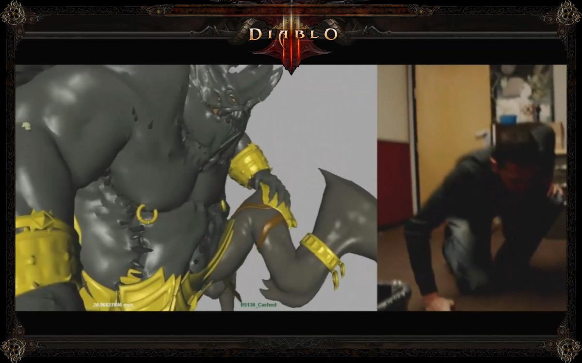 Diablo iii blizzcon 2011 секция черный камень