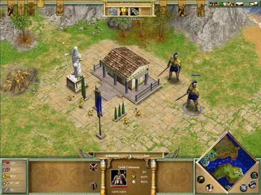 Age of Mythology - Конкурс монстров:Колосс. При поддержке GAMER.ru и CBR