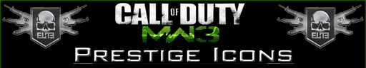 Call Of Duty: Modern Warfare 3 - Уровни престижа