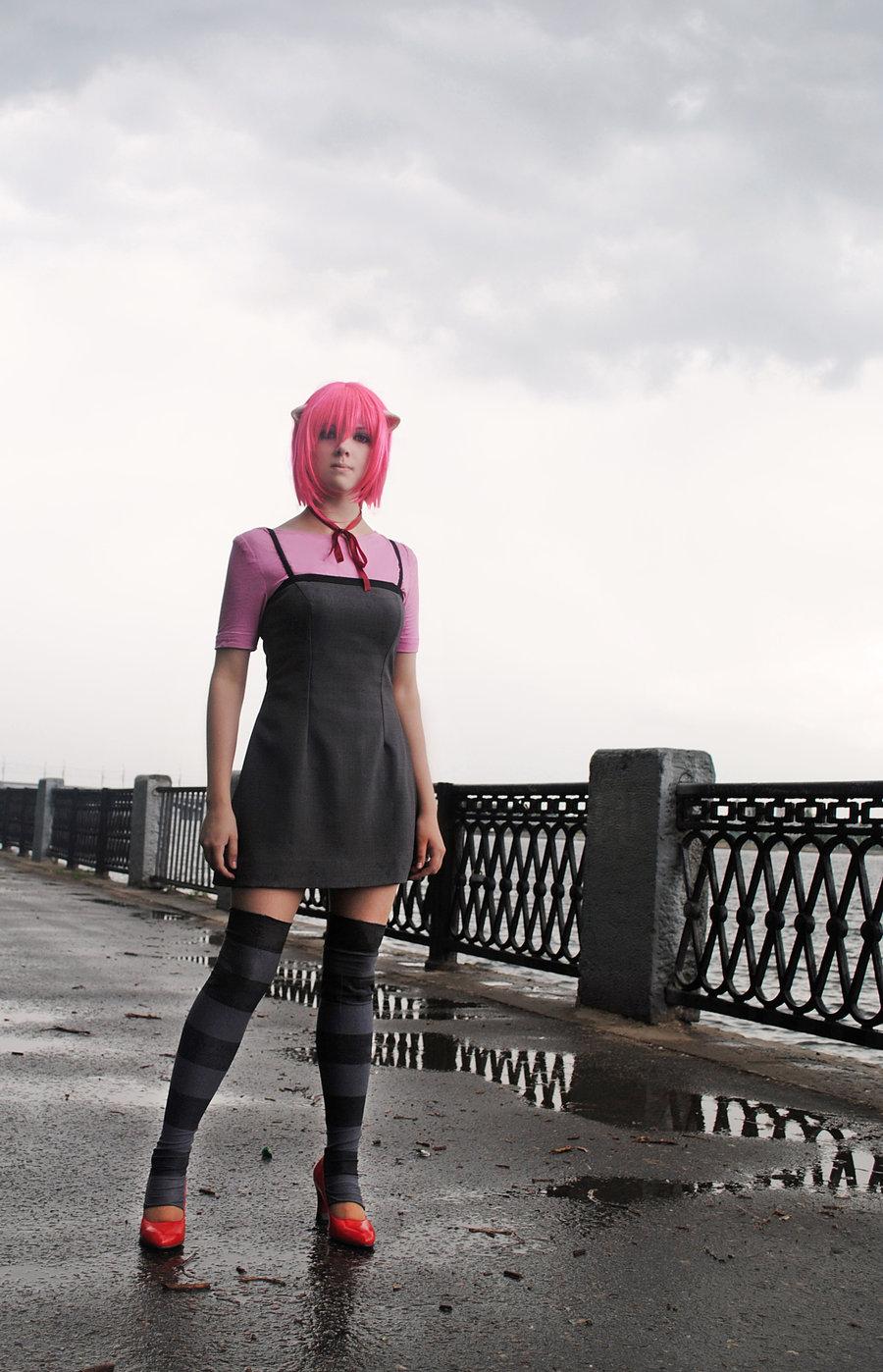 Elfen lied cosplay xxx sexy videos