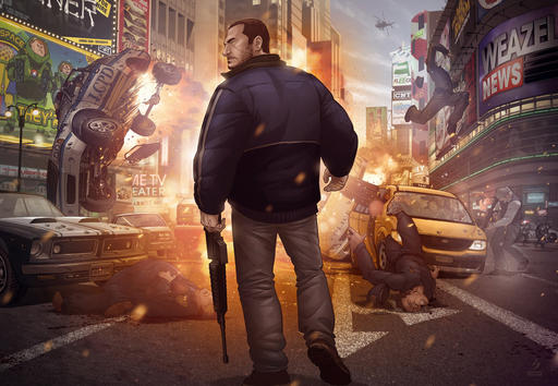 Grand Theft Auto IV - This is a Jecking от Patrick Brown