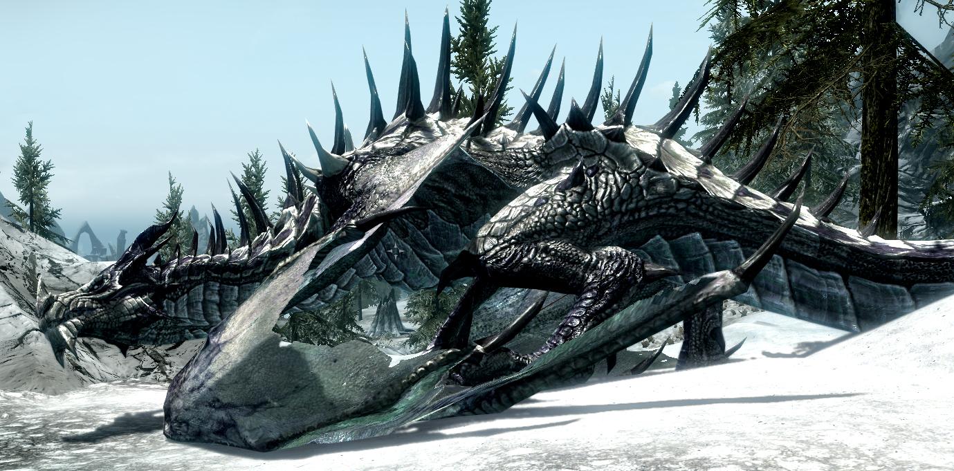 Драконы (The Elder Scrolls V: Skyrim) - Серия The Elder Scrolls - Best Gothic Forums