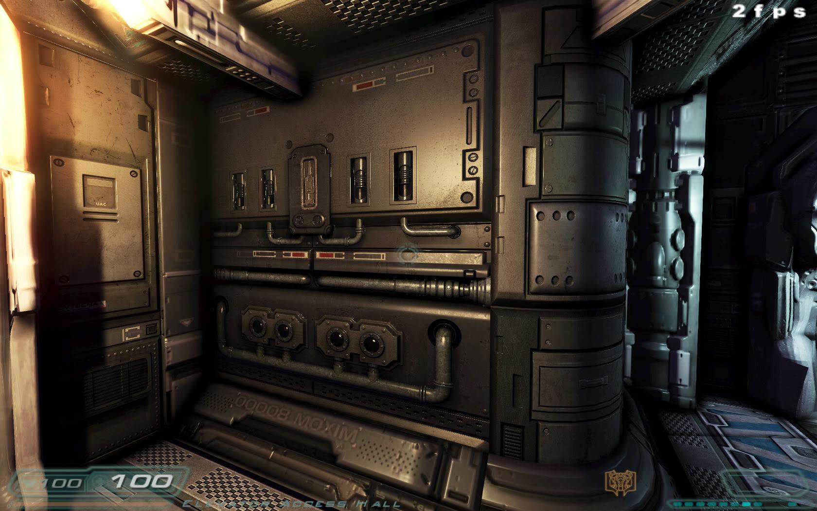 Doom 3 Parallax Mapping Mod