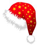 вариант, как поставить на аву новогоднюю шапку общешкольном