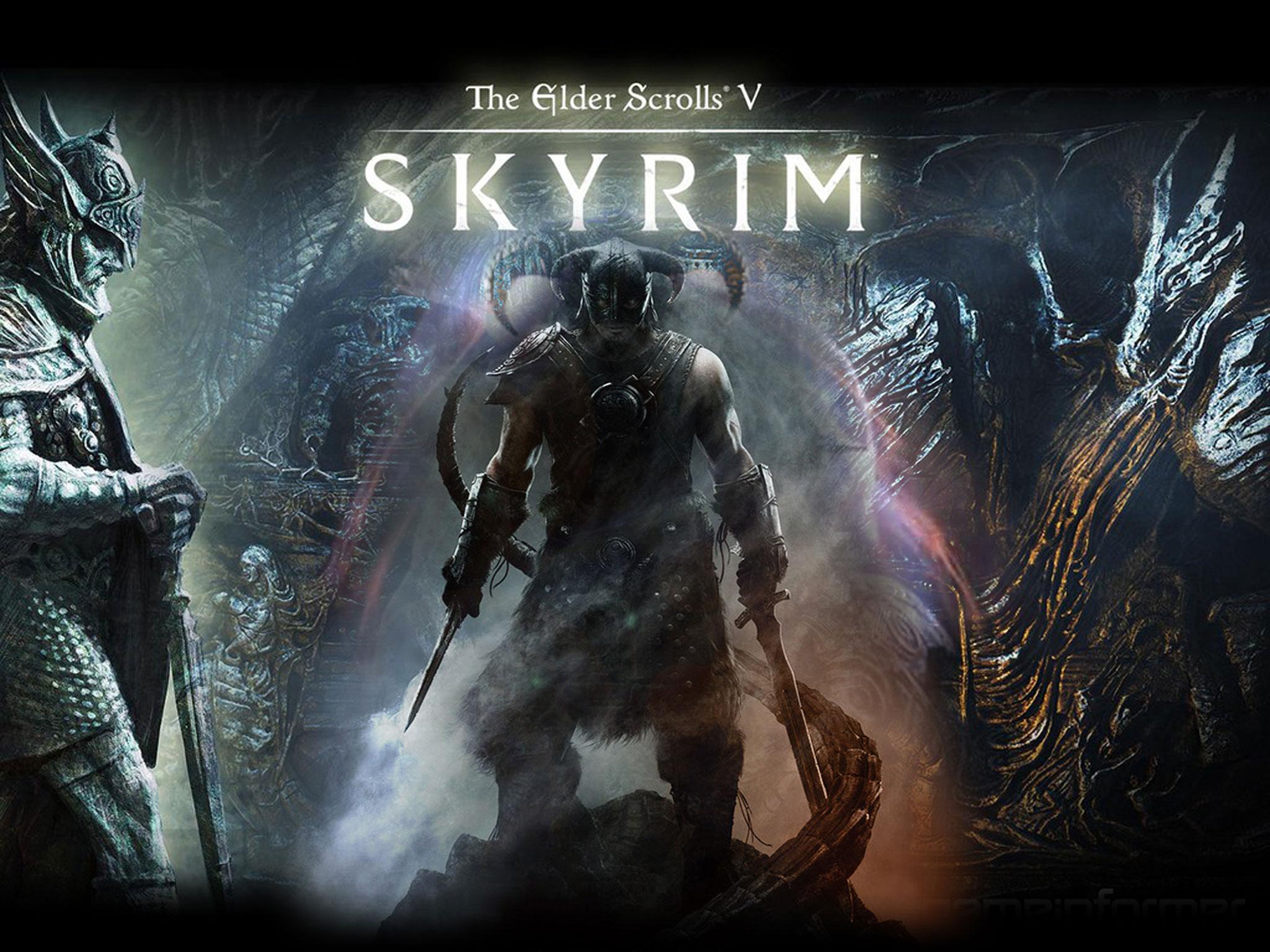 Видео обзор игры Skyrim