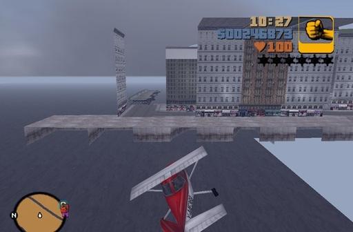Grand Theft Auto III - Город-призрак