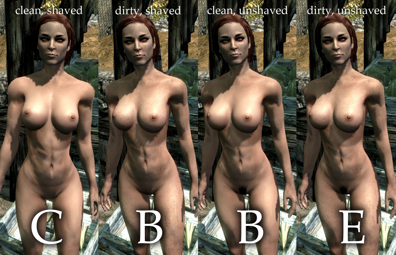 Nude patch in skyrim fucked videos