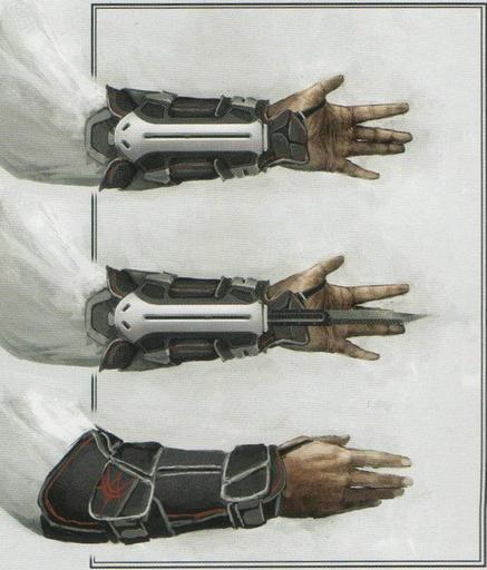 Арт современого скрытого клинка из нового Assassin's Creed или простой фейк? / Блог PsayKer96