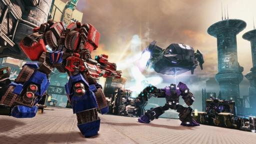 Transformers: Fall of Cybertron - новые скриншоты [X360, PS3]