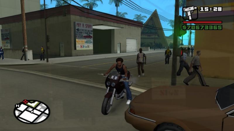 GTA San Andreas: Казино Рояль Агент 7 - Часть 3 [Наш