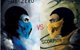 Mortal Kombat - Sub-Zero vs Scorpion