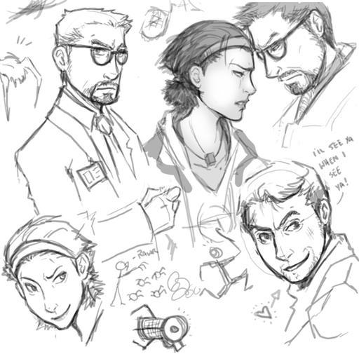 Half-Life 2 - Фан-арт + немного комиксов