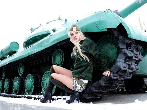 Конкурс «Мисс World of Tanks».