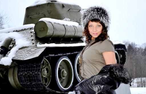 World of Tanks - Конкурс «Мисс World of Tanks».