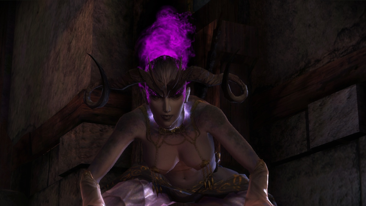 Dragn age секс с демоном желания