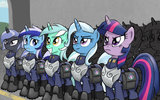 Unicorn_corps_by_lunarapologist-d4ni3po