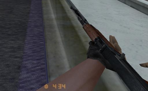 Half-Life: Counter-Strike - Правильная модель АК