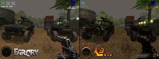 Far Cry - Обзор мода для Far Cry K9 Vision