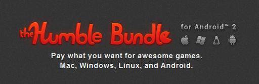 Цифровая дистрибуция - The Humble Bundle for Android 2